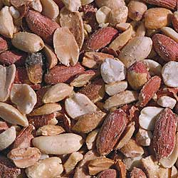 peanuts for feeding birds